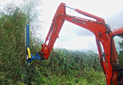 Auger Torque HC150 & HC180 Excavator Mounted Hedge Trimmer