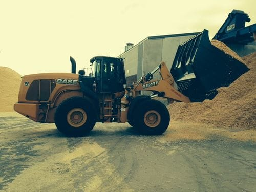 Case 1121F Wheel Loader