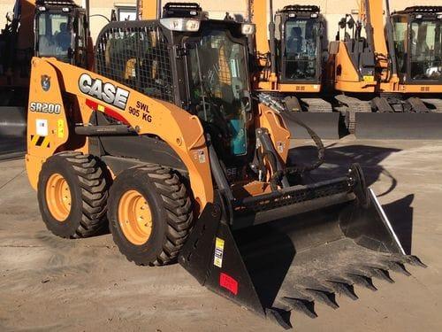 Case SR200 Skid Steer Loader Rated Operating Load 905kg