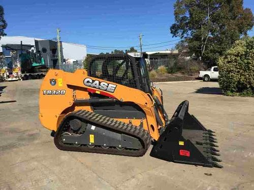 Case TR320 Compact Track Loader