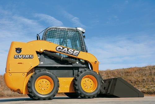 Case SV185 Skid Steer Loader Rated Operating Load 840kg