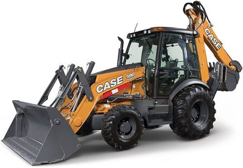 Case 590 Super N Backhoe