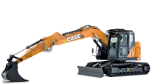 Case CX145C Excavator (Optional Offset Boom)