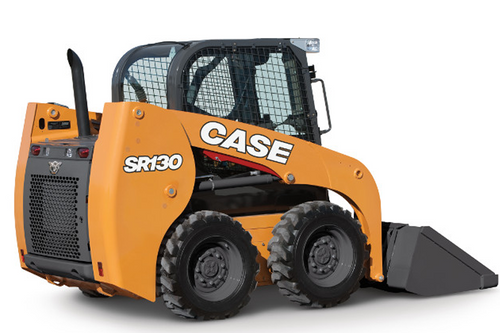 Case SR130 Skid Steer Loaders Rated Operating Load 590kg