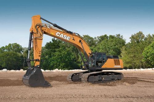 Case CX490D Excavator