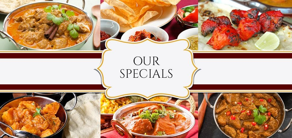 Our Specials, Indian food