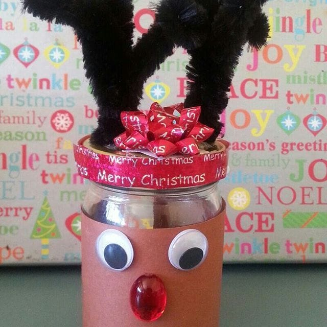 Rudolf the Red Nosed Reindeer Candles