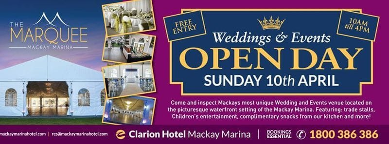 Wedding and Open Day Event - Mackay