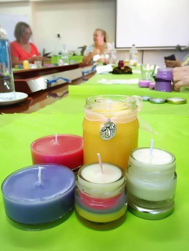 June Candle Making Workshop