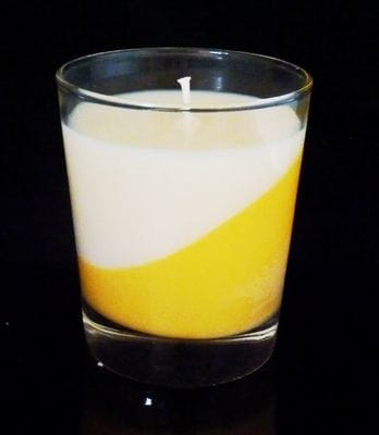 Peaches, Peaches and Cream, Fusion Candle, Soy Hand poured Candle, Glasshouse fragrances, Luxury Candles