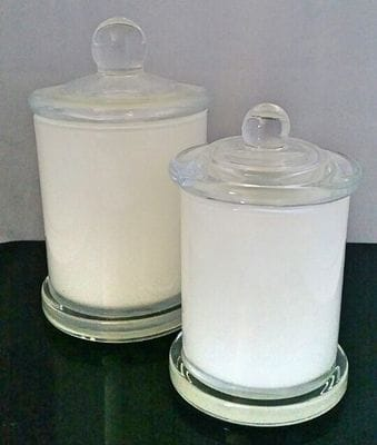 White Glassware - Dream Candles - Soy CAndles