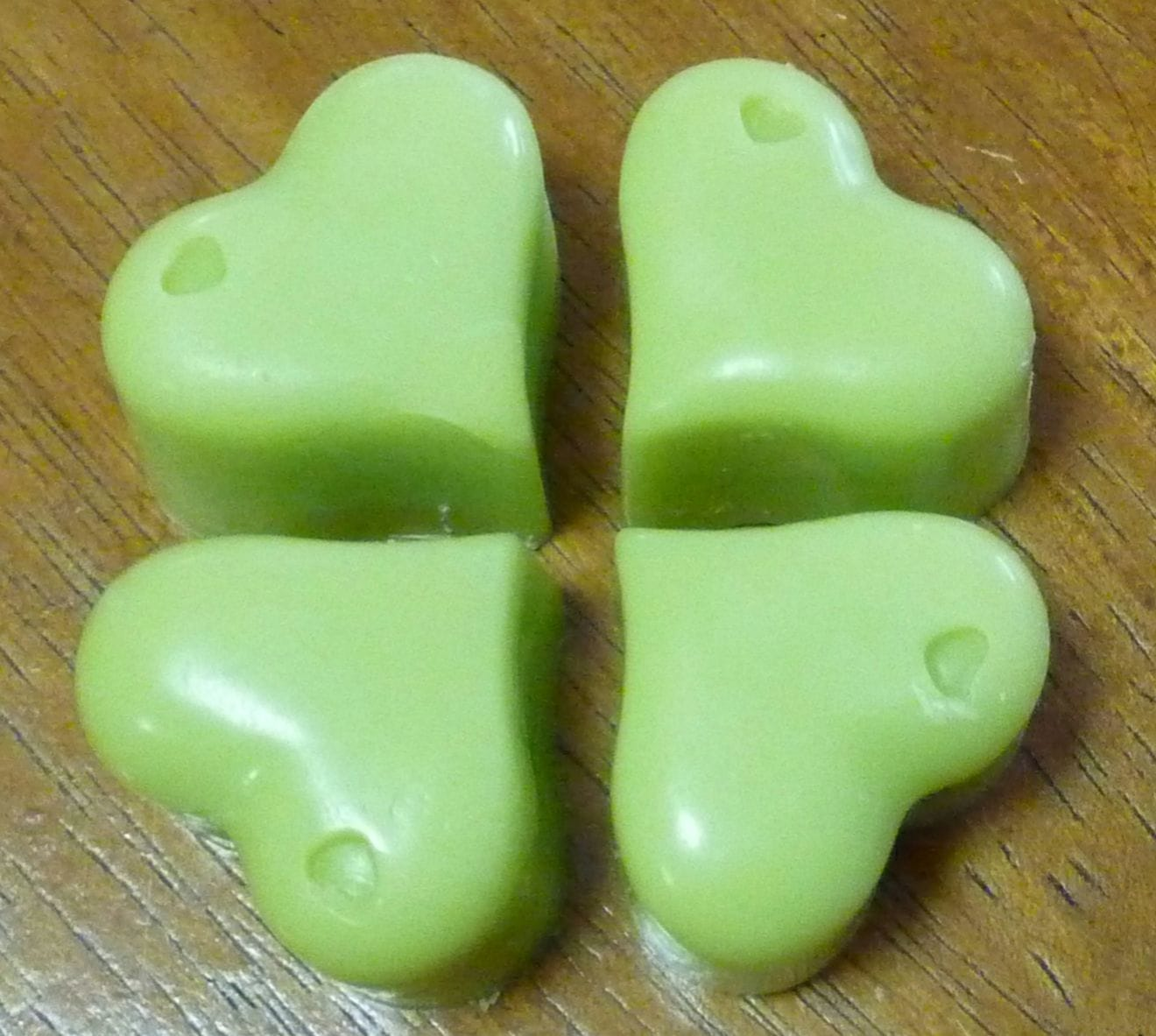Sweet Lemongrass Mini Heart Soy Melts