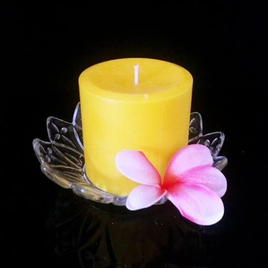 Pillar Candle Lemon Myrtle