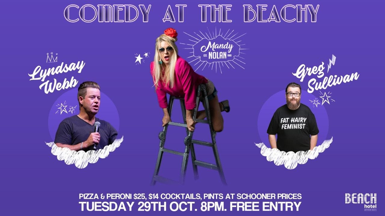 Comedy at the Beachy