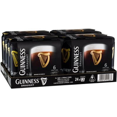GUINNESS STOUT CAN CARTON