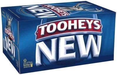 TOOHEYS NEW CARTON
