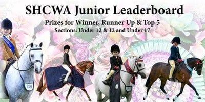 Show Horse Council of WA Junior Leaderboard