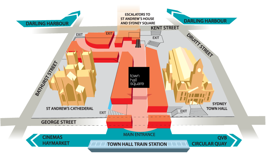 Location | Town Hall Square Shopping Centre | Sydney, NSW