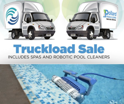 Pollard Pools & Spas Truckload Sale