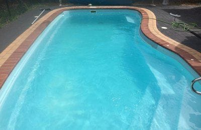 After regular service by Pollard Pools & Spas