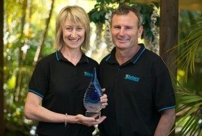 Sue and Lee Pollard, business owners of Pollard Pools & Spas