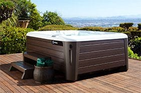 Pollard Pools & Spas use Hot Spring spas