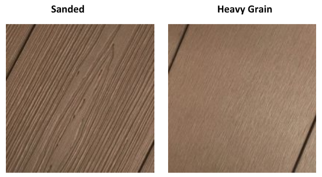 PermaTimber Sanded and Heavy Grain