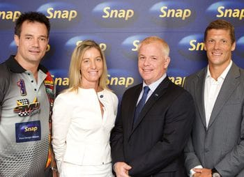 Snap backs up print with 2014 sporting sponsorships