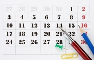 Using branded calendars to connect