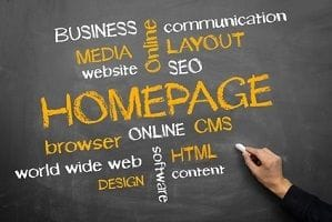 Homepages that hook clients