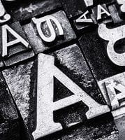 A history of typeface
