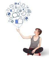 The shape of social media in 2013