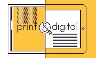 Why digital and print advertising work well together