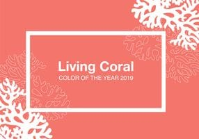 'Living coral' named Pantone's 2019 colour of the year