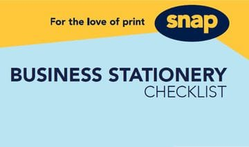 Your business stationery checklist