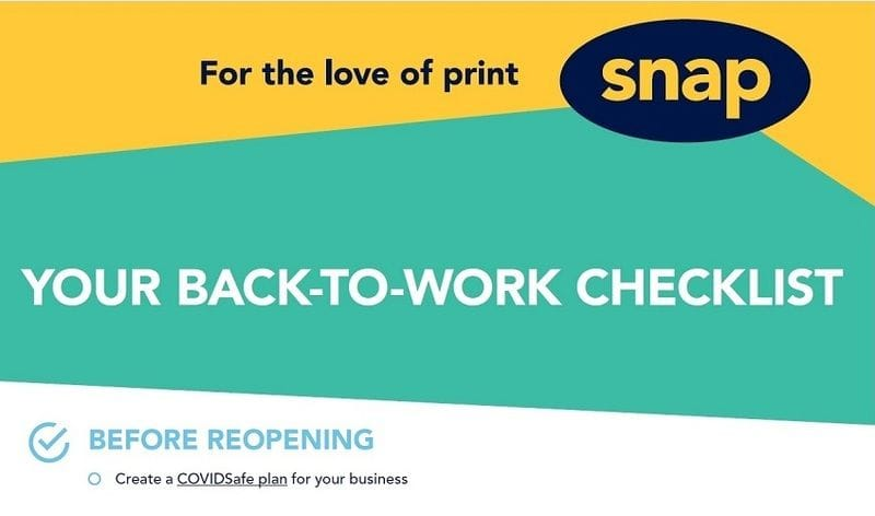 Your back-to-work checklist