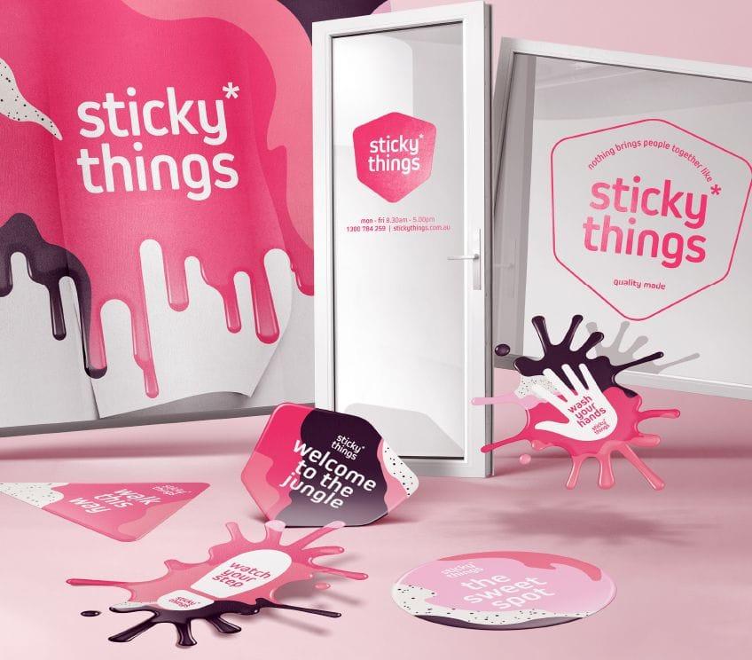 Sticky Solutions