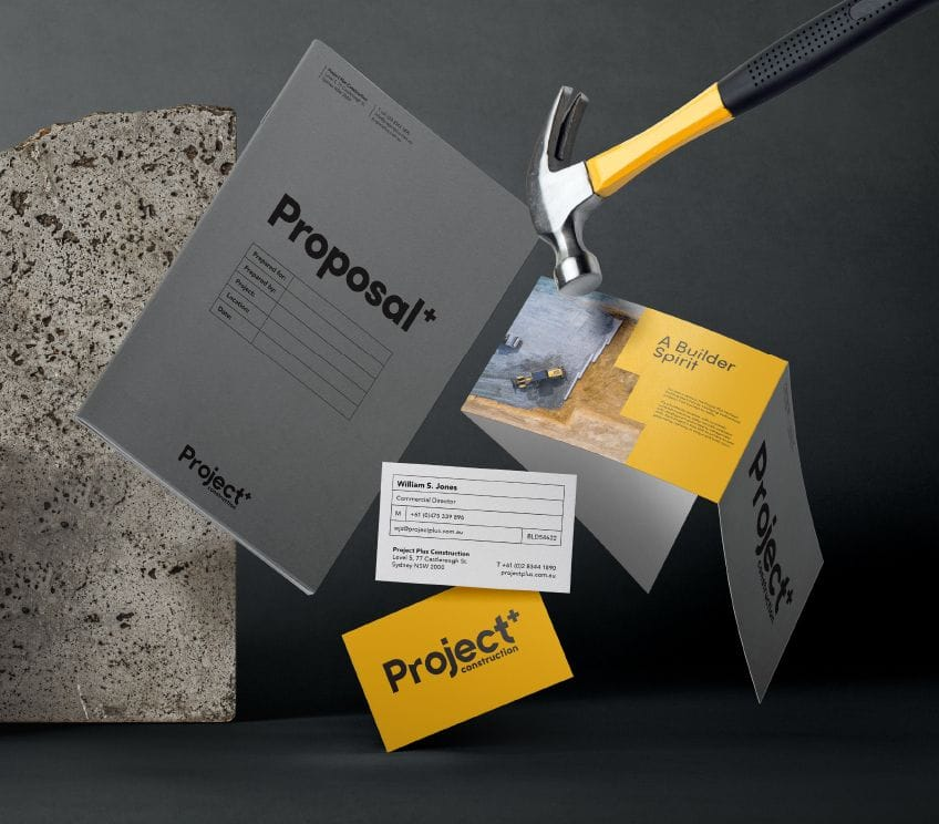 Business cards, brochures, flyers, proposals