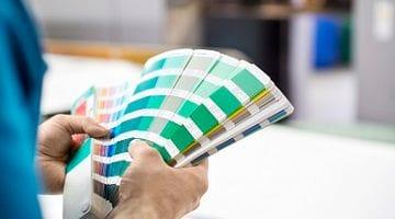 Snap colour printing