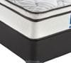 KENDAL BED Plush Ensemble Mattress and Base