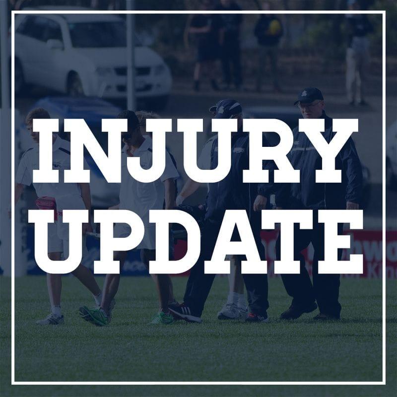 Round Three Injury Report