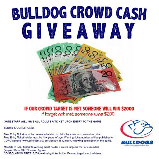 Free Car Parking and Cash Giveaway at Centrals