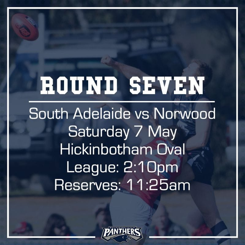 Round Seven: South vs Norwood - Teams