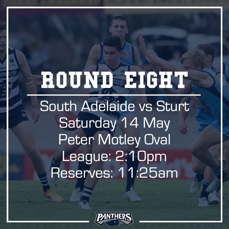 Round Eight: South vs Sturt - Teams