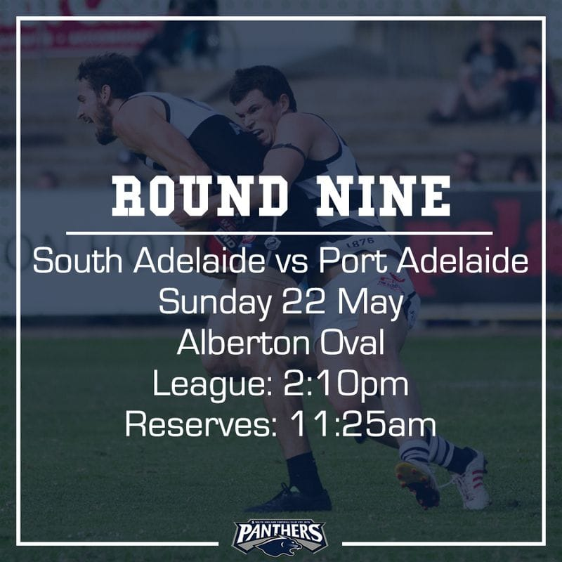 Round Nine: South vs Port - Teams