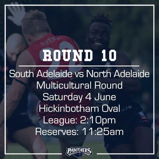 Round 10: South vs North - Teams