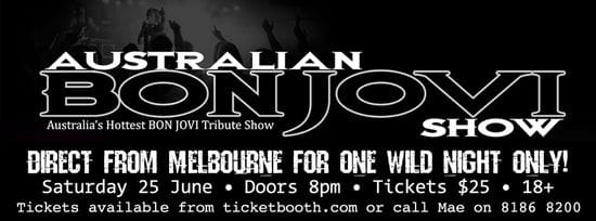 Party With Bon Jovi This Weekend!