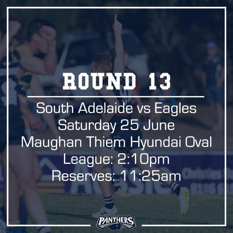 Round 13: South vs Eagles - Teams