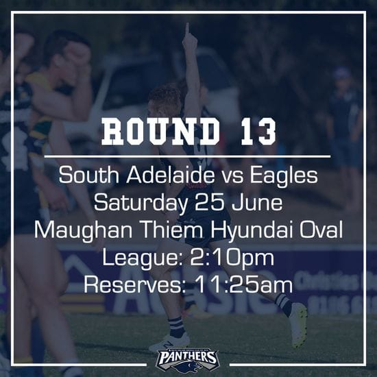 Round 13: South vs Eagles - Teams