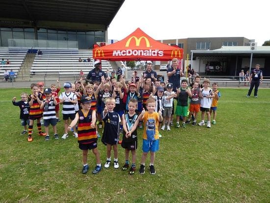July Macca's School Holiday Clinics